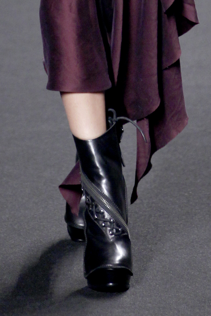 Haider Ackermann Fall/Winter 2011 accessories / ankle boots trend report