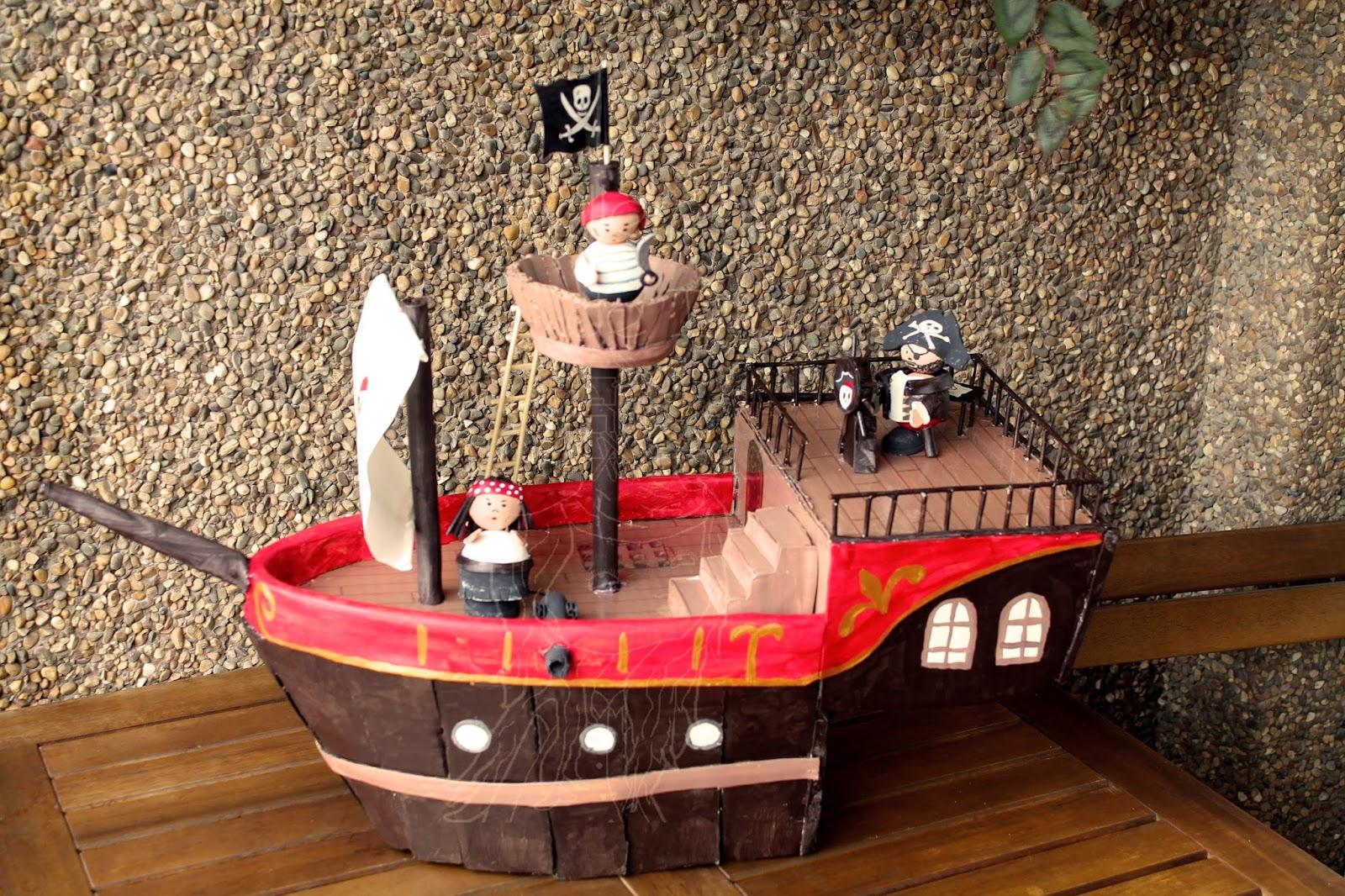 DIY: Muñecos del barco pirata   El Taller de Ire