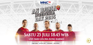 AS Roma Day 2015 Tour Indonesia 2015