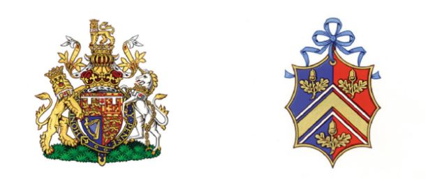 the full coat of arms of hrh prince williams of wales. prince william of wales coat