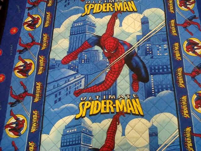 tikar dakron motif spiderman1