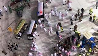 Musibah Crane Jatuh di masjidil Haram Makkah