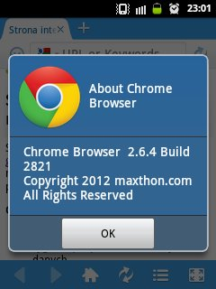 google chrome apk for android 2.3