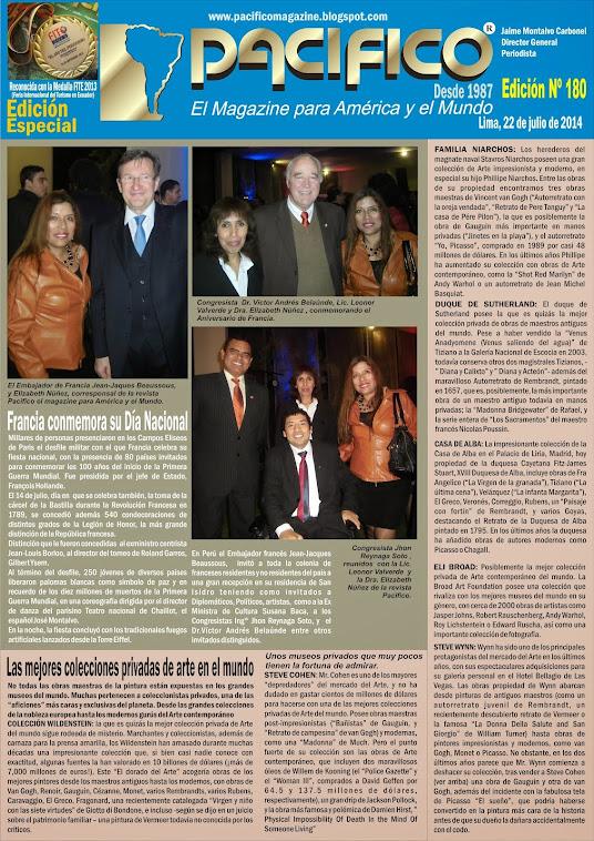 Revista Pacífico Nº 180 Edición Especial