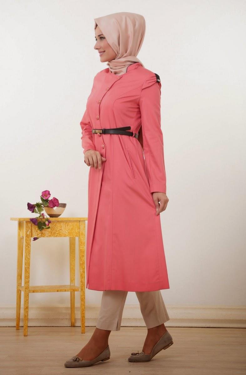 Tenue Hijab Turque Rose Par Doque Istanbul Hijab Fashion