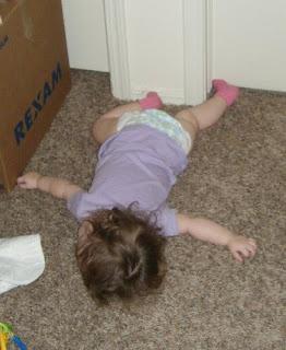 Asleep in the Play Room