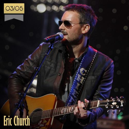 3 de mayo | Eric Church - @ericchurch | Info + vídeos