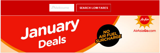 Air Asia: Over 100 destinations to explore with no fuel surcharge now!