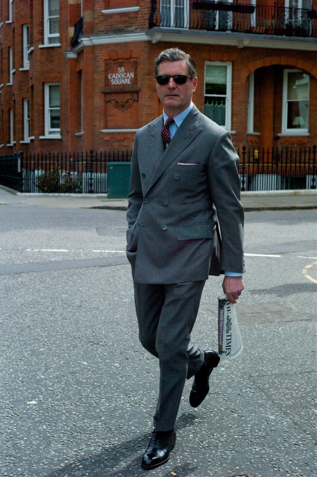 Grey Fox: Hackett - purveyors of fine shirts and suits