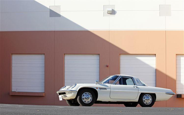 Mazda Cosmo Sport, 110S, stary japoński sportowy samochód, kultowy, klasyk, oldschool, piękny design, zdjęcia, 日本車, スポーツカー, クラシックカー, マツダ