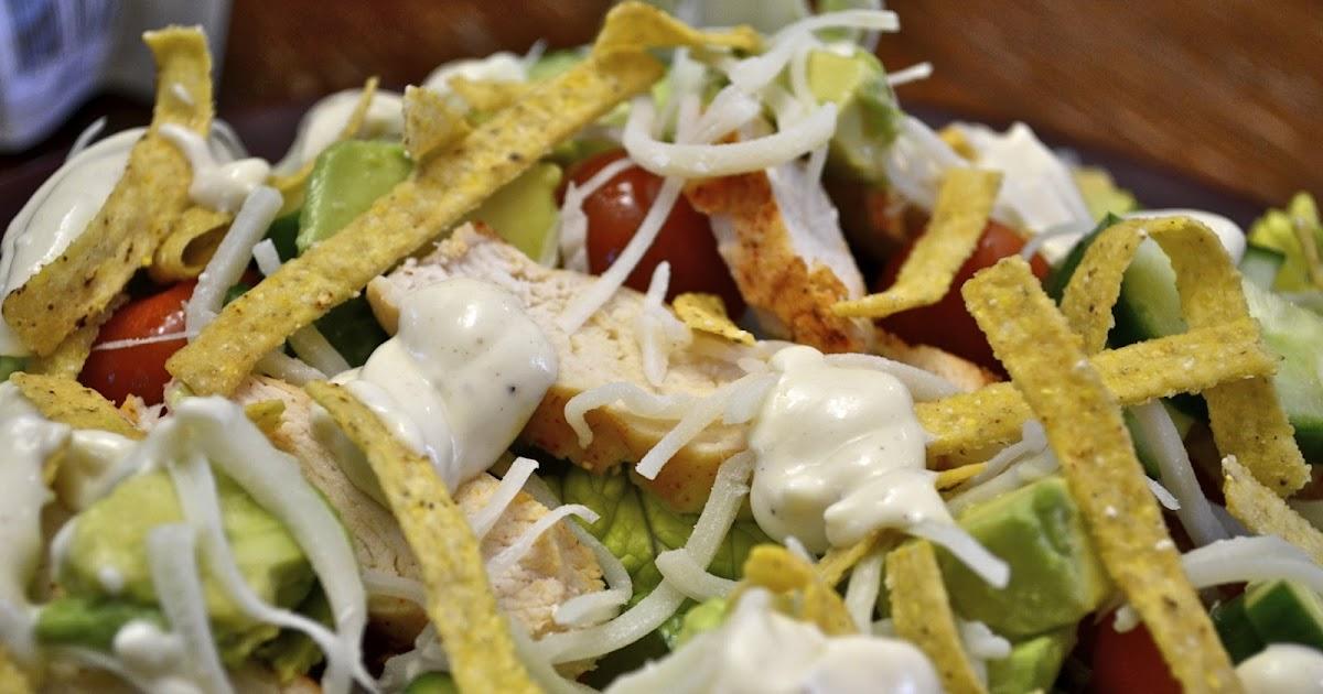 """""""Point-less"""" Meals: Santa Fe Chicken Salad"""