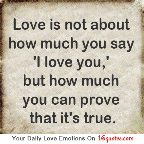 To Show You I Love You Quotes : Love Quotes I Love You-Picture And Quotes