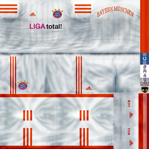 Kit Away Bayern Munich 2013 by OMAR - PES 6