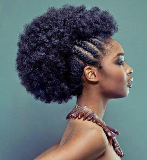 """""""Quelques modèles de coiffures afros?"""""""