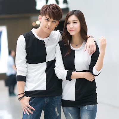 Model Baju Couple Keren Lengan Panjang Terbaru 2016
