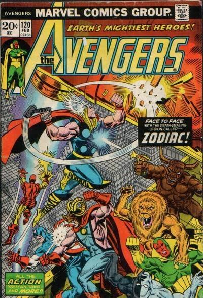 Avengers #120, Zodiac