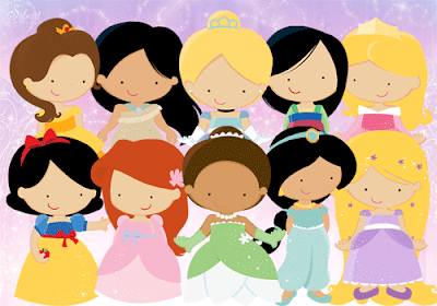 las princesas disney bebes para tus manualidades