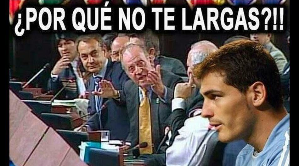 Memes del partido Holanda-España Mundial Brasil 2014