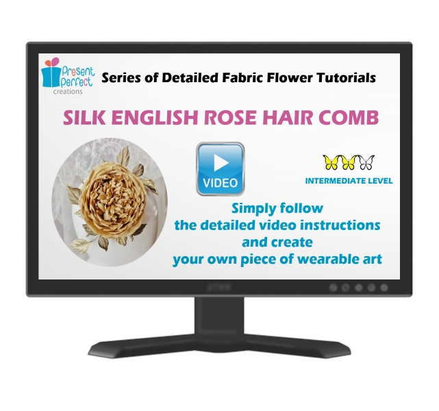 Video tutorial on the English rose