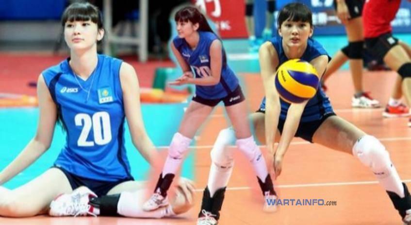 Foto Hot Sabina Altynbekova Atlet pemain voli Putri Kazakhstan tercantik Terseksi di dunia