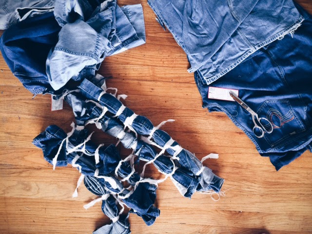 Denim, process, the-making-of, etsy