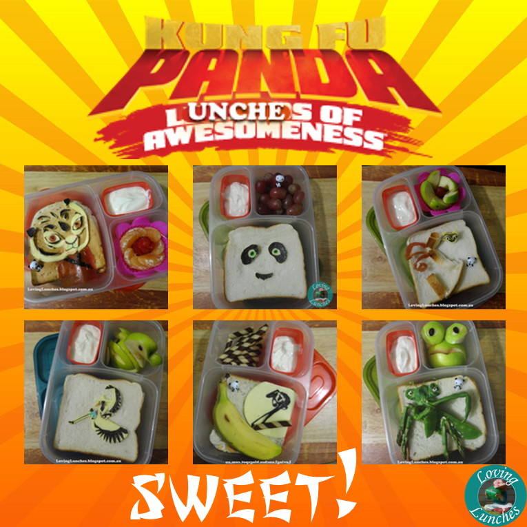 Loving Lunches: Kung Fu Panda Lunches of Awesomeness Mr Ping