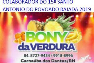 PUBLICIDADE: BONY DA VERDURA C.dos DANTAS