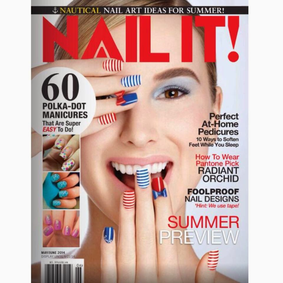 MDOLLNYC FEATURE IN NAIL IT MAGAZINE MAY-JUNE 2014