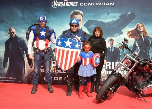 """Evento Fan """"Capitán América: El Soldado de Invierno"""" (22 de marzo Madrid)"""