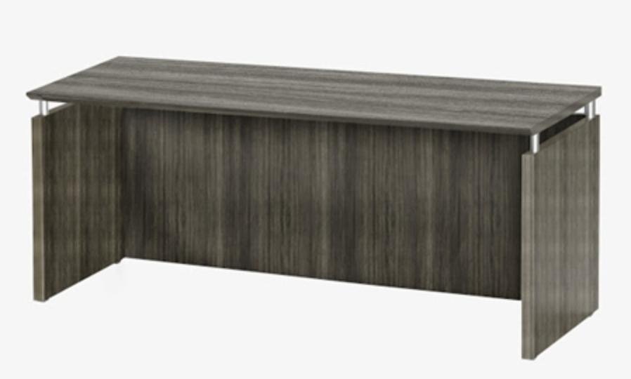 Mayline Medina 63 inch Gray Steel Credenza
