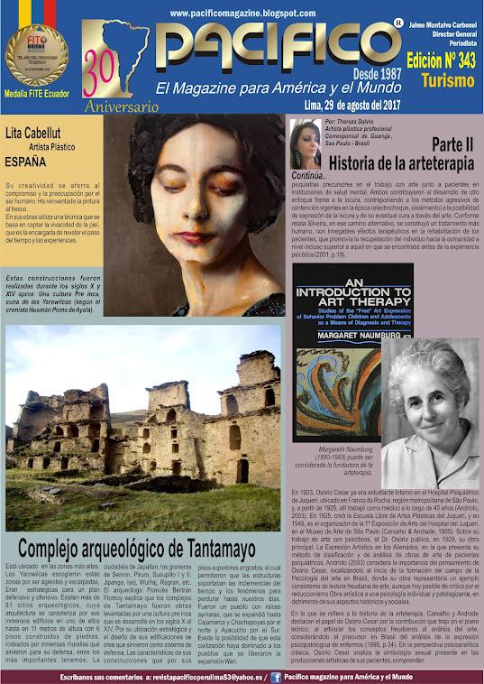 Revista Pacífico Nº 343 Turismo