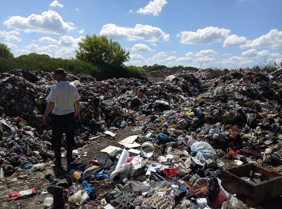 Львівське сміття доїхало до Згурівки (ФОТО)