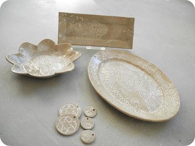 Recycled noot - Steengoed collectie serviesgoed