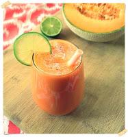 cara membuat jus melon