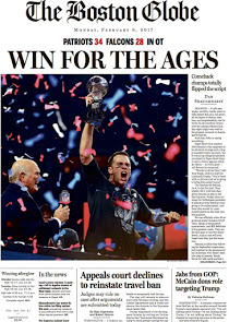 Boston Globe - Win For The Ages