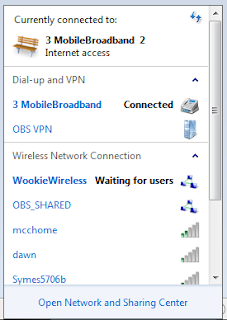 Choose your Network and connect to WiFi