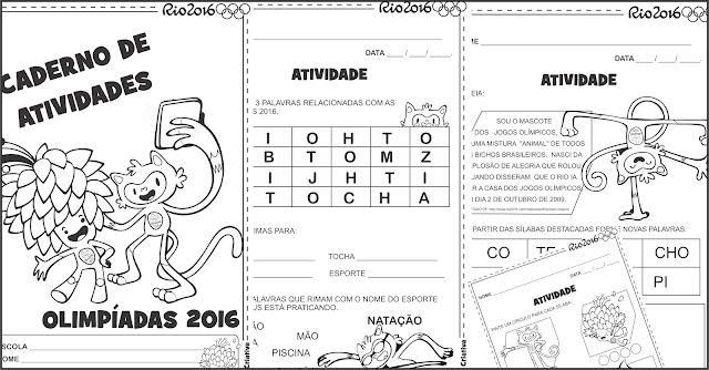 Sequência Didática Olimpíadas Rio 2016 Alfabetização