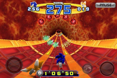 Sonic the hedgehog for iPad3