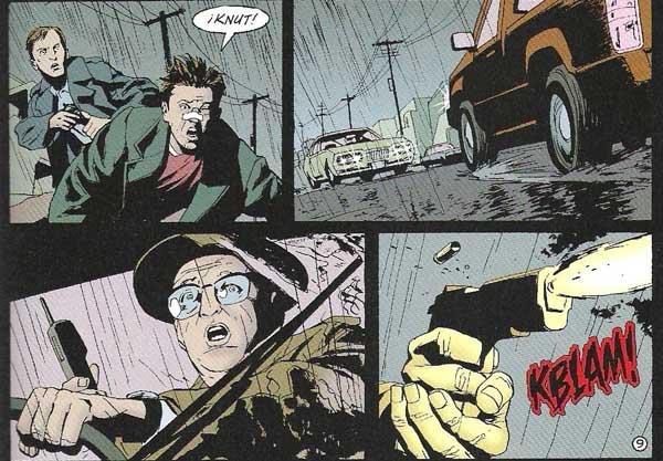 "Michael Lark ilustra ""la Escena del Crimen"""