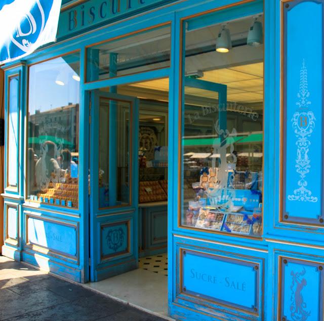 Plätzchenladen in Südfrankreich