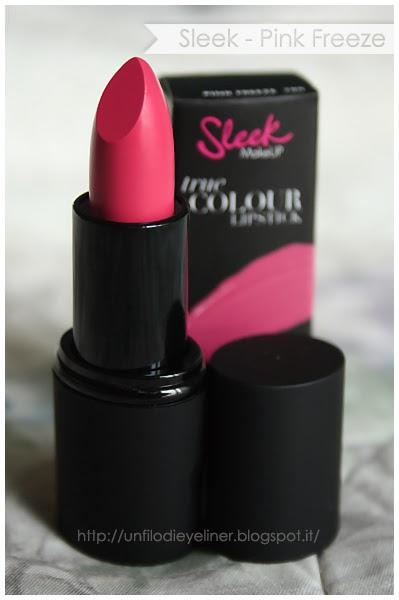 haul sleek true color lipstick pink freeze