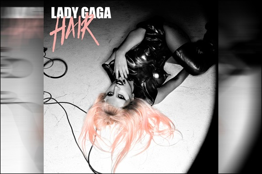 lady gaga hair single album cover. pictures Lady Gaga Hair Single