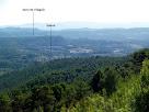 Vistes de la zona de la Galera i muntanyes de Gaià
