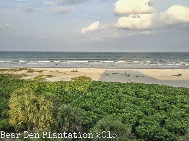View from Hilton Hotel in Cocoa Beach, FL