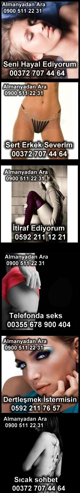 Telefon sohbet numaraları
