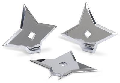 Ninja Star Pins