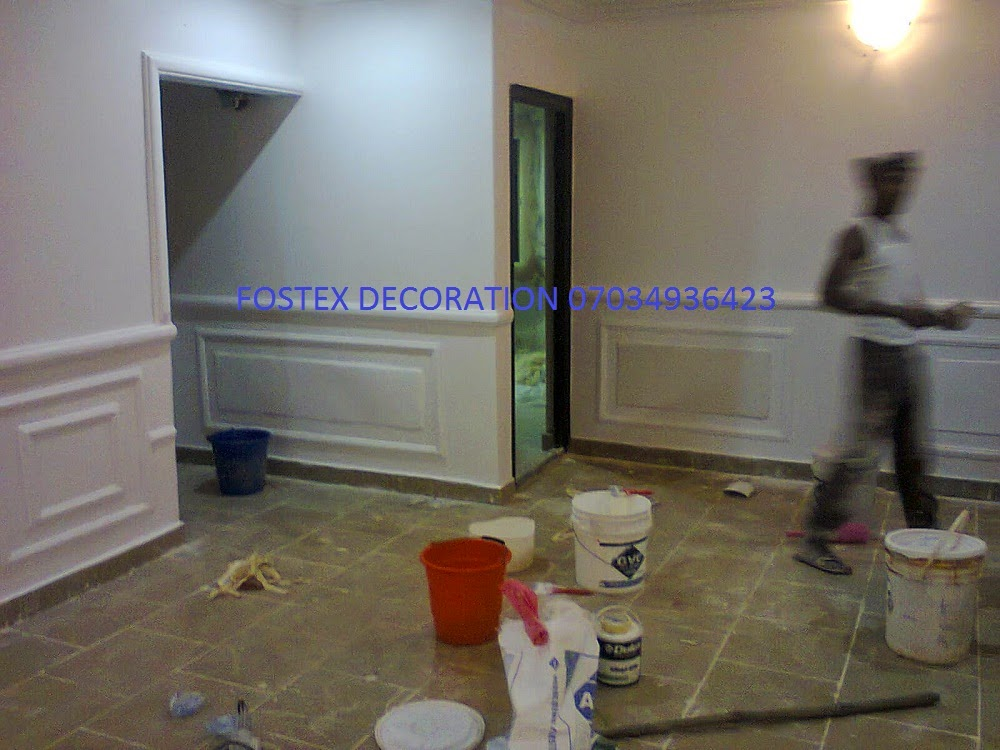 Wall screeding floating painting best city house painter for House painting in nigeria