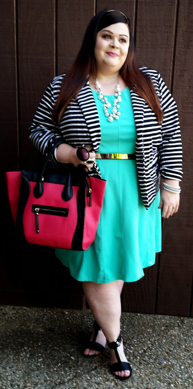 TheStyleSupreme: Spring Plus Size OOTD: Featuring Jessica London