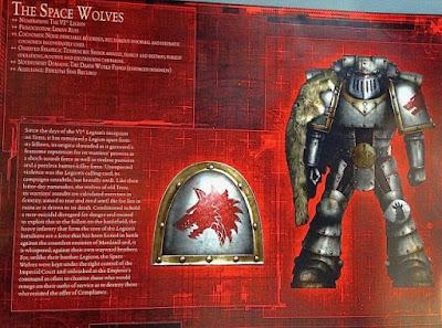 La Legíon de Space Wolves durante la Herejía de Horus