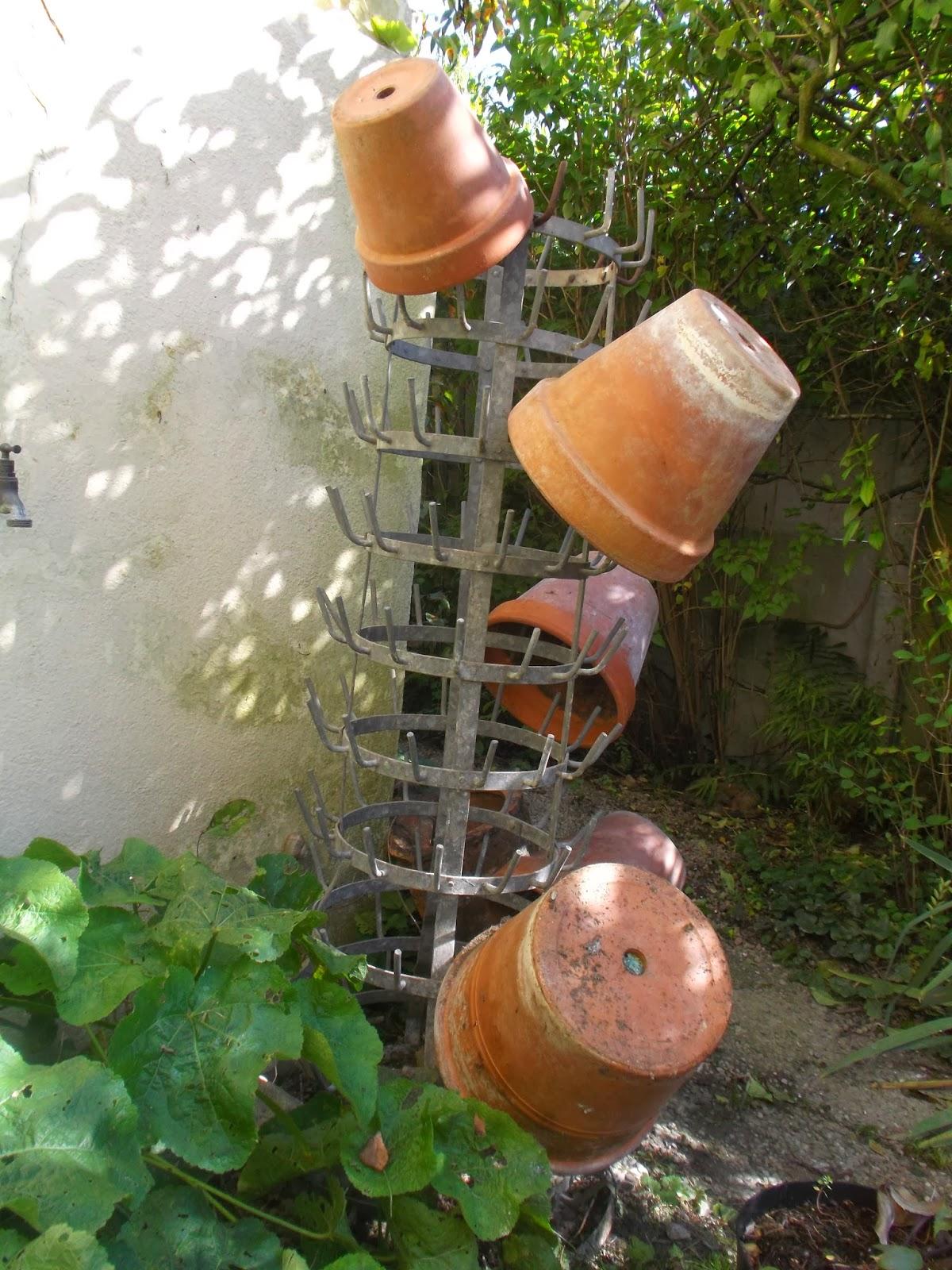 Brocante et jardin d tourner les objets au jardin - Detourner les objets ...